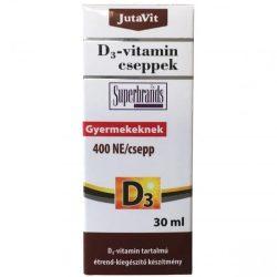 JutaVit D3 vitamin 400NE cseppek (30 ml)