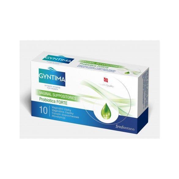 Gyntima Probiotica forte hüvelykúp (10 db)