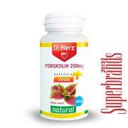 Dr. Herz Forskolin 250 mg+Króm kapszula (60 db)