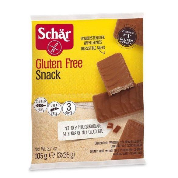 Schär gluténmentes Snack mogyorós-csokis ostya (105 g)