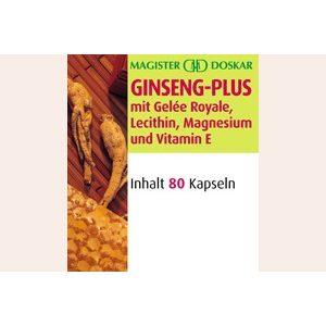 Doskar Ginzeng Plusz méhpempővel (80 db)