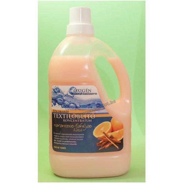 Földbarát Textilöblítő koncentrátum narancs-fahéj illattal (1500 ml)