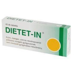 DIETET-IN tabletta (40 db) - Selenium Pharma