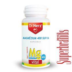 Dr. Herz Magnézium 400 mg Supra kapszula (60 db)