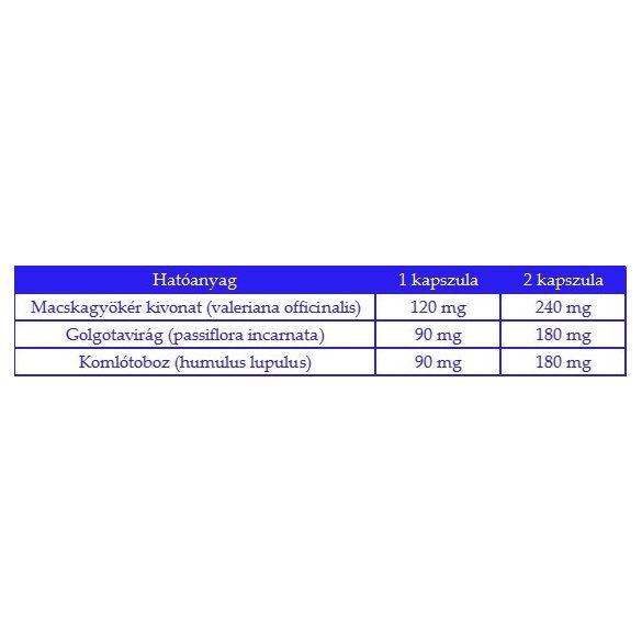 Bioheal Valeriana Komplex tabletta (70 db)