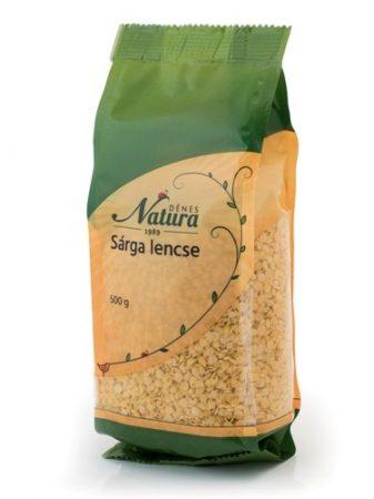 Natura Sárga lencse (500 g)
