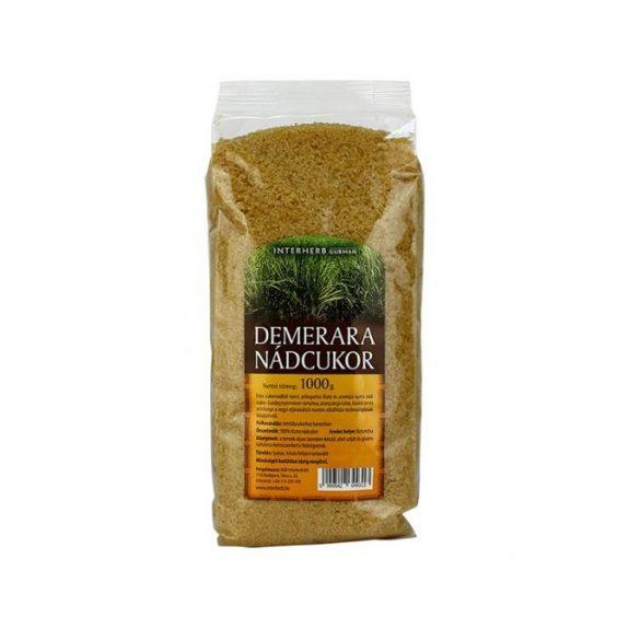 Interherb Gurman Nádcukor Demerara (1000 g)