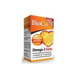 BioCo Omega-3 Forte kapszula, Megapack (100 db)