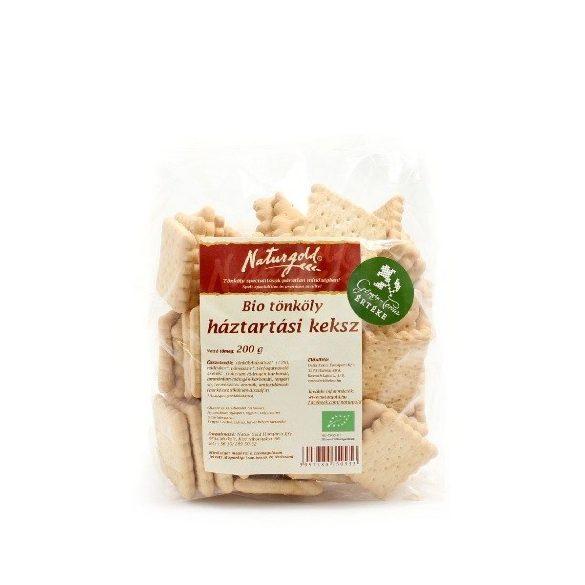 Naturgold Bio Tönköly Háztartási Keksz (200 g)