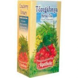 Apotheke Tőzegáfonya filteres tea (20 db)