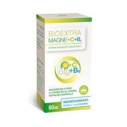 Bioextra Magne + C-vitamin+B6 kapszula (60 db)