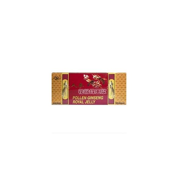 Dr. Chen Pollen Ginseng Royal Jelly ampulla (10 x 10 ml)