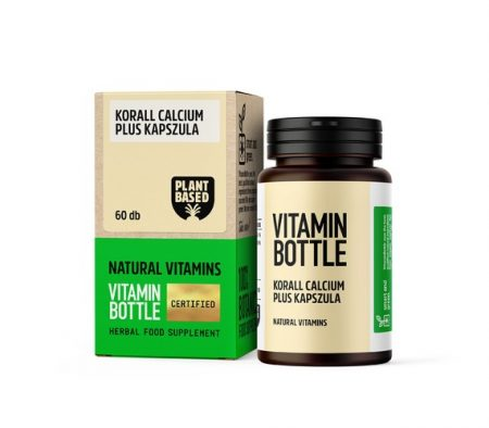 Vitamin Bottle Korall Kalcium kapszula (30 db)