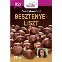 Szafi Reform Zsírtalanított gesztenyeliszt (250 g)