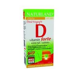 Naturland D-vitamin forte tabletta (60 db)