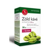 Interherb Napi 1 Zöld kávé Extraktum 300 mg+króm (30 db)