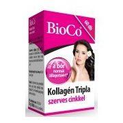 BioCo Kollagén Tripla szerves cinkkel kapszula (60 db)