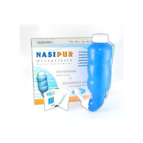 Nasipur Orröblítő készülék sóval (1 db)