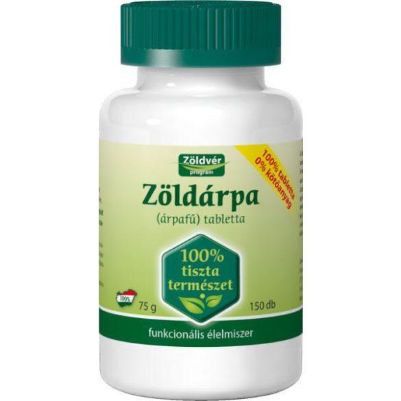 Zöldvér Zöldárpa 100 % tabletta (150 db)