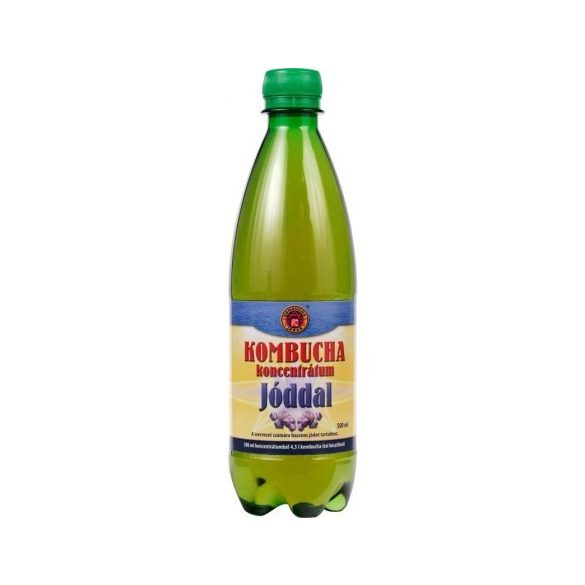 Kombucha koncentrátum, jódos (500 ml)