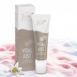 Vital Just szem- és szájkontúr ápoló krém havasi gyopárral és hóalgával (30 ml)