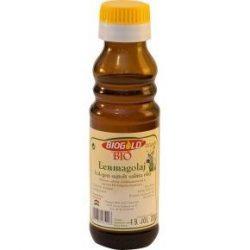 Biogold Hidegen sajtolt bio lenmagolaj (100 g)