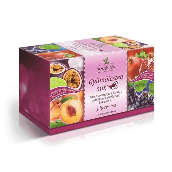 Mecsek Tea Gyümölcstea Mix-2 filteres (4 x 5 x 2 g)