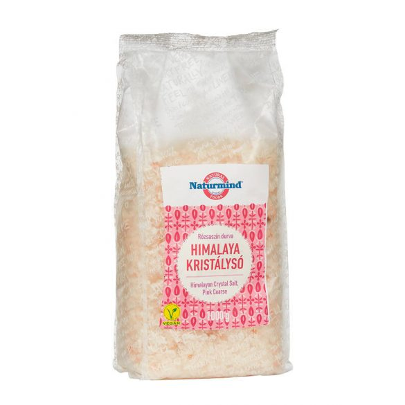 Naturmind Natúr Himalaya só durva, rózsaszín (1000 g)