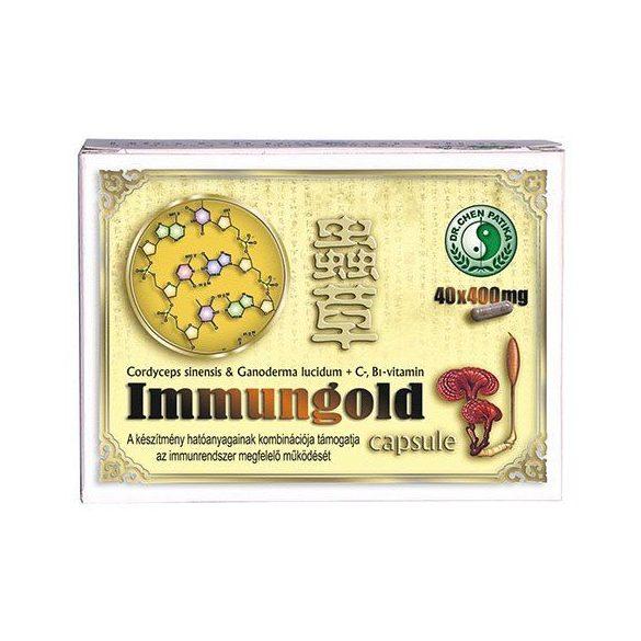 Dr. Chen Immungold kapszula (400 mg × 40 db)