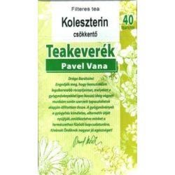 Pavel Vana tea Koleszterin csökkentő (40 db)