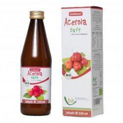 Medicura Acerola 100% Bio gyümölcslé (330 ml)