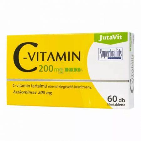 JutaVit C-vitamin 200 mg (30 db)
