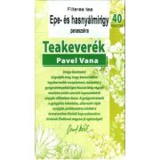 Pavel Vana tea Epe- és hasnyálmirigy panaszokra (40 db)