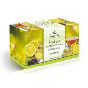 Mecsek Tea Zöld tea gyömbérrel és citrommal (20 x 2 g)