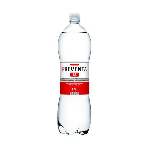 Preventa 85 Csökkentett deutérium tartalmú szénsavas ivóvíz (1500 ml)