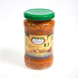 Silvania food Padlizsános zakuszka (300 ml)
