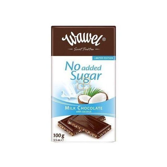 Wawel Diabetikus cukormentes csokoládé (100 g)