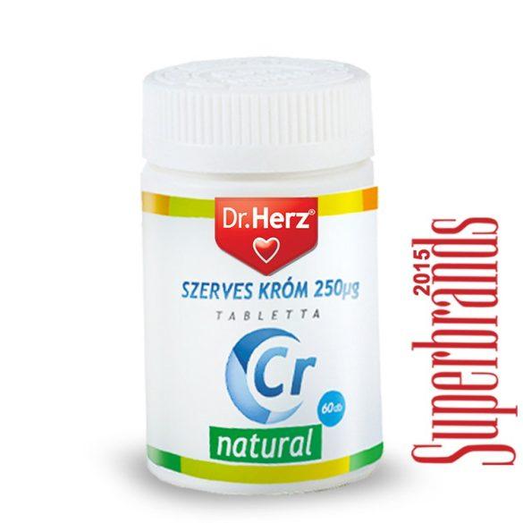 Dr. Herz Szerves Króm-pikolinát 250 tabletta (60 db)