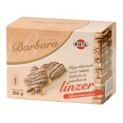 Barbara gluténmentes linzer kajszis (180 g)