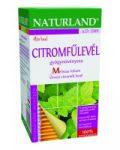 Naturland Citromfűlevél Tea (25 filter)