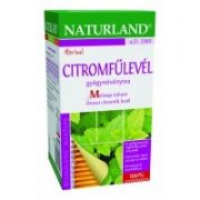 Naturland Citromfűlevél Tea (25 filter)