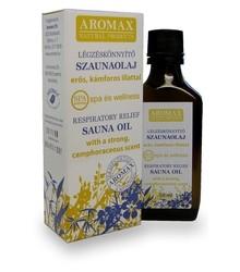 Aromax Szaunaolaj Légzéskönnyítő (50 ml)