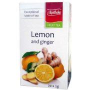 Apotheke Gyömbéres Citrom Tea, filteres (20x2g flt)