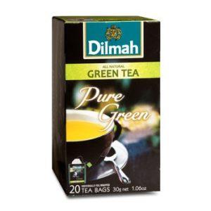 Dilmah Zöld tea, Natural, filteres (20 db x 1,5 g)