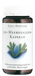 Sanct Bernhard Jód - Tengeri alga kapszula (180 db)