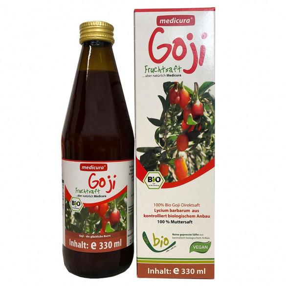 Medicura Goji 100% Bio gyümölcslé (330 ml)