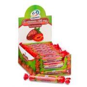 1x1 Vitaday Szőlőcukor rágótabletta C-vitamin 100 mg, epres ízű (17 db)