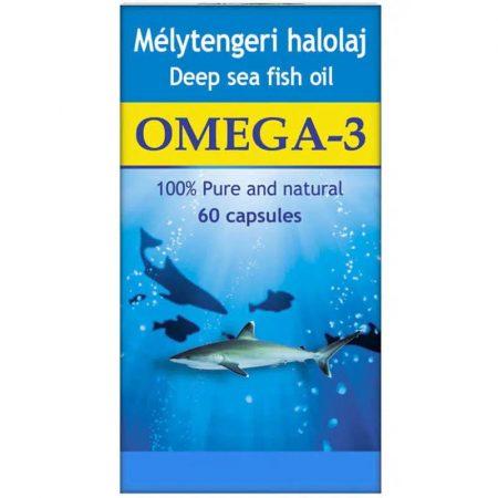 Dr. Chen Omega-3 Mélytengeri Halolaj kapszula (60 db)