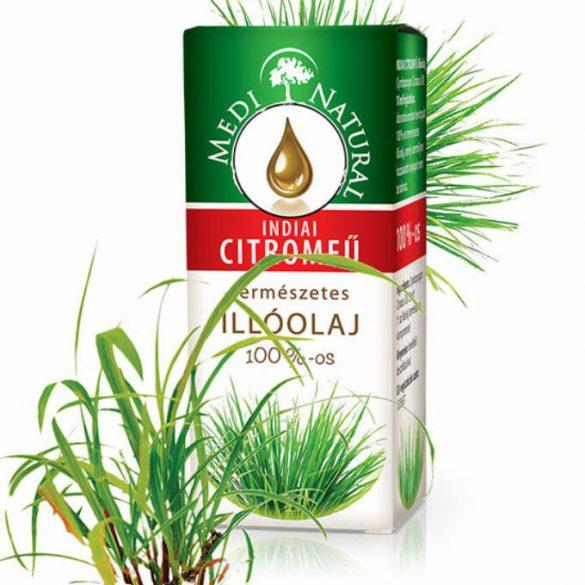 Medinatural 100%-os Indiai Citromfű illóolaj (10 ml)