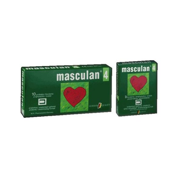Óvszer Masculan 4-es (10 db)